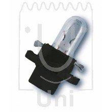 LAMPE 12V1.2W BX8.4D - 159.46.88 - OSRAM - SET 2 STÜCK - Sockel: BX8.4d-12.5 - Sockelfarbe: tiefschwarz -