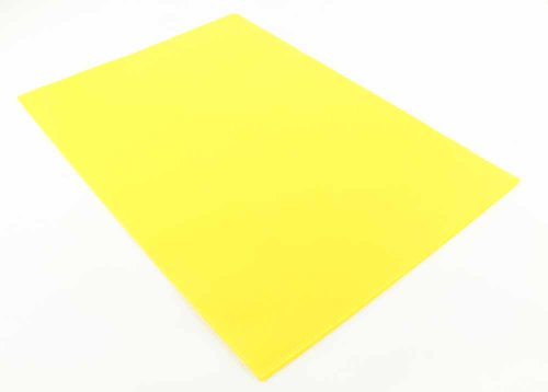 eBooks For Mobile Q Connect A4 Cut Flush Folder – Yellow (Pack of 100)