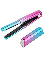 Deogra Cordless Mini Flat Iron USB Rechargeable Hair Straightener Ceramic Tourmaline Straightening Iron with 3D Floating Plates Portable for Travel Incl Heat-resistant Storage Pouch (Mermaid)