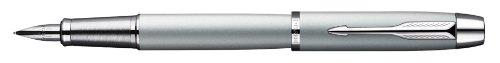 Parker S0856270 IM-Füllfederhalter (schwarz Lackiert mit Chromeinfassung, Strichstärke Mittel)