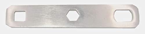Amesbichler Stollenschlüssel flach für viereckige oder Runde Stollen