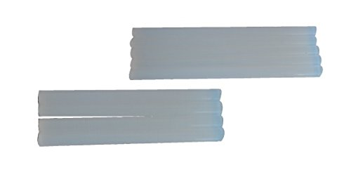 Adesivo a 200 mm. caldo-Barra di colla-Spessa colore bianco-1 kg.