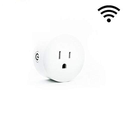 KAR Mini Presa e Presa Intelligenti, compatibili con Alexa Google Assistant IFTTT No Hub ETL e Presa Intelligente Senza Fili con Telecomando FCC
