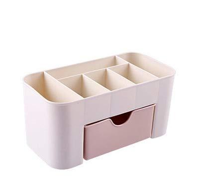 XIAOZHOU Kosmetische Aufbewahrungsbox Kosmetischer Plastikmagazinkasten mit kleinem Fach-Kasten-Kleinigkeiten-Kasten-Badezimmer-Speicher -