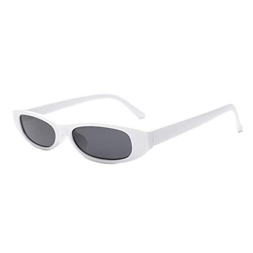 Masterein Frauen Kleine rechteckige Tiny Platz Sonnenbrillen Fahren Angeln Outdoor-Sun-Glas-Ultra-Light UV400 Brillen