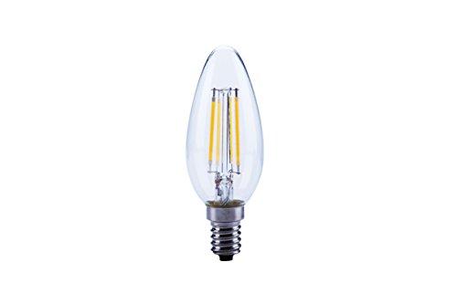 LED FILAMENT Kerze 4W (40W) E14 827 360° KLAR