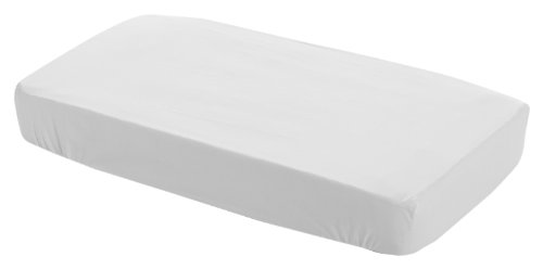 Cambrass 13520 - Sábana ajustable para cuna, 70 x 140 cm, color blanco