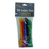 Kabelbinder farbig sortiert 200 Stück von NoName - Lampenhans.de
