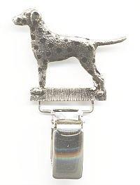 Dalmatian Dog Show Ring Clip/Number Holder