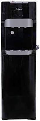 Midea 3 Tap Bottom Loading Water Dispenser, Black - YL1633S, 1 Year Warranty