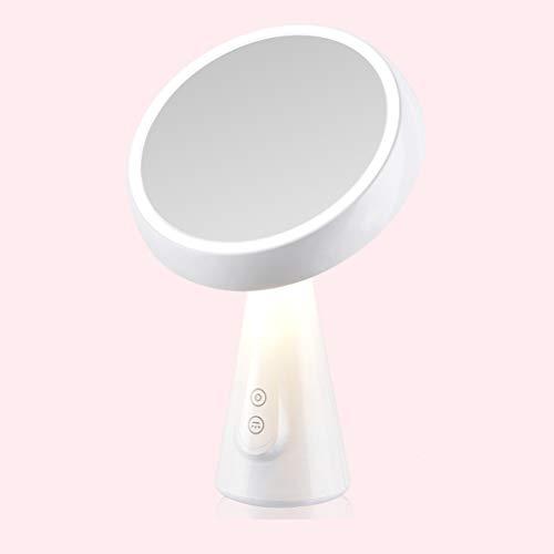 LYLLYL LED-Kosmetikspiegel-Desktop-Füllspiegel intelligenter Desktop-Dimmerspiegel 19.6 * 31cm...