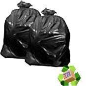 Packung enthält 1 x Standard Black Müllbeutel, Müllbeutel (200) 45,72 cm x 73,66 cm x 99,06 cm 180 G
