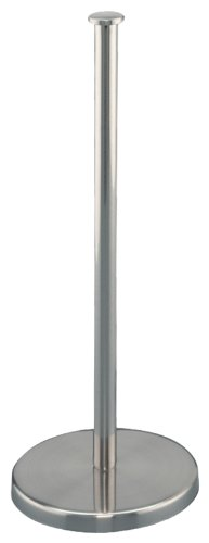 zeller-2057973-porte-essuie-tout-avec-rouleau-en-inox-argent-13-x-32-cm