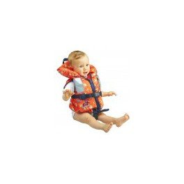 *Plastimo Rettungsweste–Typhoon 100N, Farbe Orange, Größe 10–20kg*