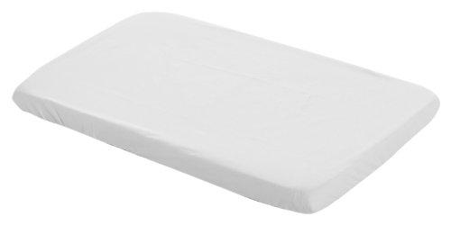 Cambrass 3030 - Sábana ajustable para cama de bebé, 50 x 82 cm, color blanco
