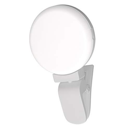 IPOTCH Flash LED Luz 9 Bombillas para Móvil Inteligente Tableta compatibilidad Universal...