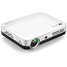 WOWOTO 3D DLP Projecteur, 1280x800 résolution HD vidéoprojecteur, Android 4.4, LED projecteur avec Correction du trapeze, HDMI, Wi-Fi et Bluetooth de WOWOTO