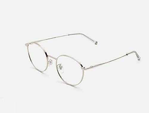 Retrosuperfuture Unisex Sonnenbrille Linie Signature Modell Nr. 61 Silber