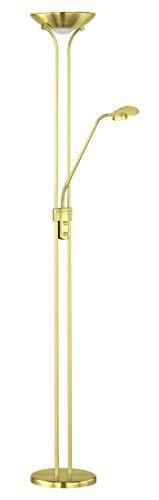 Reality Spock Sobremesas y lámparas de pie LED, Dorado, 180 x 25 cm