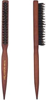 Volume Up FaQiLi(647) Boar Brush HairBoar Bristle Hair BrushBoar Bristle Round Hair BrushHair BrushHairHair Straightener BrushSoftClean The Comb