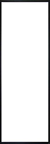 Poster-Rahmen, Bilderrahmen - 33 x 95 cm - Schwarz, Wechselrahmen aus Kunststoff