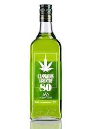 Cannabis Absinthe - Absenta 80, 70 cl Rara