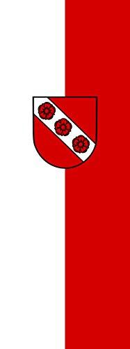 magFlags Drapeau Mulfingen | portrait flag | 6m² | 400x150cm