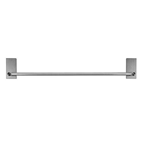 BTSKY 55 cm 3 m Selbstklebender Edelstahl Handtuchhalter Kleiderstange Organizer Rack Bar Badezimmer Zubehör -