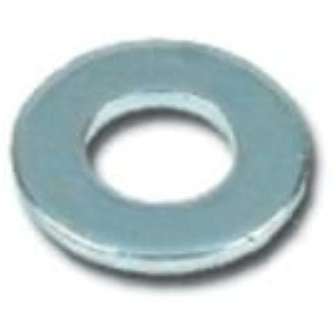 RONDELLA PIANA PER TESTA ESAGONALE DIN125-A mm.3,2x7x0,5 - 2000Pz