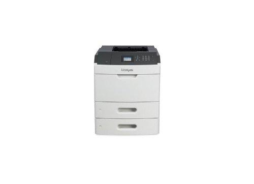 Lexmark MS812DTN Farblaserdrucker (1200 dpi, USB 2.0) graphit/weiß