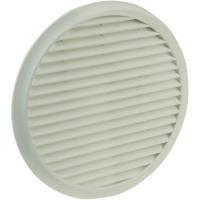 Kunststoff Lüftergitter (Wallair N33812 Lüftergitter Kunststoff Passend für Rohr-Durchmesser: 10 cm)