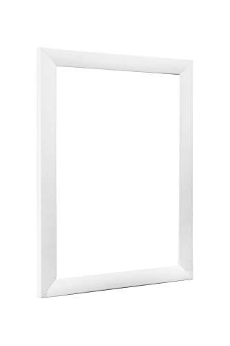 NiRa35-Top Cadre Photo 50x65 cm en Couleur Blanc Matt avec Verre Acrylique antireflet
