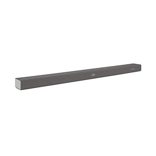 auna Areal Bar 355 Soundbar (Bluetooth, 80 Watt, Digitalverstärker, USB-Port, HDMI, optisch & coaxial, AUX, XMS Technology, Fernbedienung) Titan - Bar-lautsprecher Wireless Tv Sound
