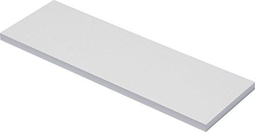 IB-Style - Holzboden | 6 Abmessungen | 4 Dekore | Stärke 19 mm | Regalsystem Wandregal Wandboard | Weiss 1200x300x19 mm