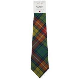 Mens Tie All Wool Made in Scotland Buchanan Ancient Tartan