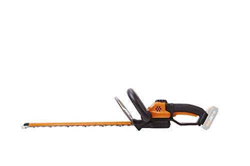 Worx WG261E.9, Cortasetos  44 cm, sin batería ni cargador, color negro y naranja