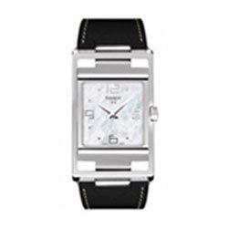Tissot My-T Square T0323091611700 - Reloj de caballero de cuarzo, correa color negro