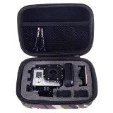 Neewer Custodia Anti-urto con Spugna per Gopro HD Hero 4, 3+, 3, 2, 1 ed Accessori Relativi, 15,8x11x4cm, Colore Mimetica