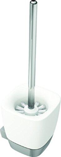VIGOUR WHITE Ersatz-Bürste mit verchromten Stiel (für Wand-/Standmodell)