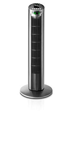 Taurus Alpatec Babel RC - Ventilateur colonne avec télécommande, 3 vitesses, 45W, couleur gris
