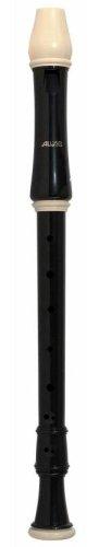 Aulos 209B Alt-Blockflöte Serie Robin Barock Doppelloch Kunststoff-Blockflöte