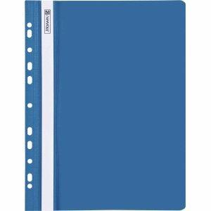 Brunnen 25 x Sichthefter Office to Go A4 gelocht blau