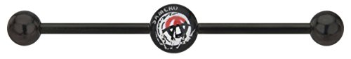 Sons Of Anarchy Samcro Anarchy Logo 14G Cartilage Ring