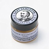 CAPTAIN FAWCETT Lavender Moustache Wax / Lavanda de FAWCETT capitán bigote cera 15ml hecho en Inglaterra