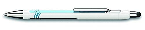 uch weiß/blau Kugelschreiber mit Stylus ()