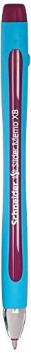 schneider-slider-memo-xb-stylo-a-bille-non-retractable-violet-lot-de-10