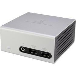 Renkforce Notebook Dockingstation 4K-/ UHD-Dual Video DU3900 (4x USB 3.0, 1x DVI, 1x HDMI, 1x LAN (