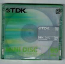 TDK MD80Mini Disc, 1