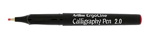 Artline Ergoline Calligraphy Pen With 3 Nib Sizes, Red Colour- Set of 3Pcs  available at amazon for Rs.170