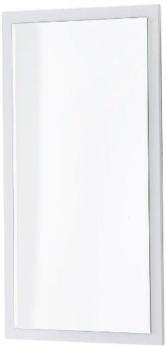 Robas Lund Spiegel, Sydney, Hochglanz/weiß, 121 x 51 x 2 cm, 52123W1